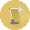 desk, electricity, flashlight, idea, lamp, light, lightbulb icon
