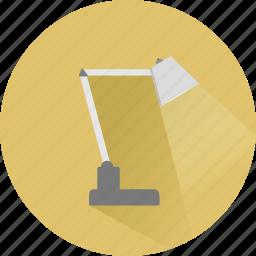 desk, electricity, flashlight, idea, lamp, light, lightbulb icon