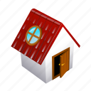 about, dwell, entrance, home, house, lair icon