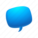 bubble, chat, email, message, send, talk icon