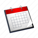 agenda, calendar, day, month, schedule, time icon