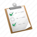 check, done, file, list, mark, task, tasks icon