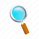 find, glass, magnify, magnifying, search, zoom icon