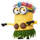 dancing, minion icon