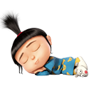 agnes, sleeping