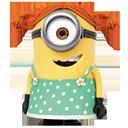 Minion, girl icon