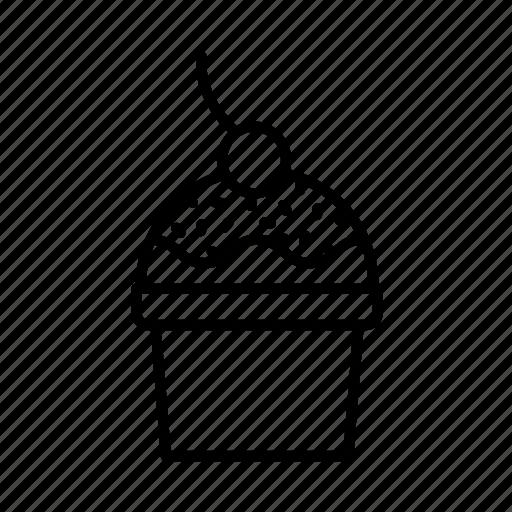 birthday, confectionery, dessert, food, ice-cream, sweets icon