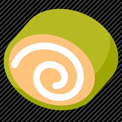 bake, bakery, dessert, food, roll, sweet icon