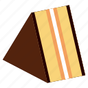 bake, bakery, cake, dessert, food, meal icon