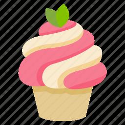 cake, cupcake, dessert, food, icecream, sweet icon