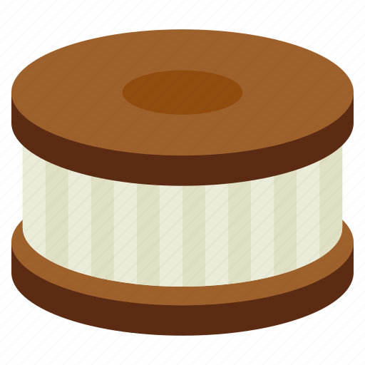 Bakery, cookie, cream, dessert, food, sweet icon - Download on Iconfinder