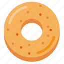 bake, bakery, dessert, donut, eat, food icon