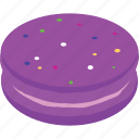 cake, candy, dessert, macaron, sweets icon
