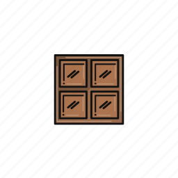 cadbury, chocolate, cocoa, dairy, milk, sweets, treat icon