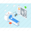 computed tomography, ct scan, disease diagnose, medical test, mri icon