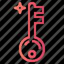 key, pass, passkey, password icon