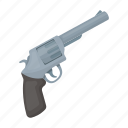 detective, gun, pistol, revolver, weapon icon