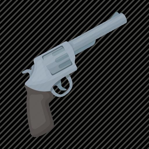 detective, gun, pistol, revolver, weapon icon