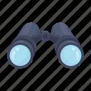 binoculars, instrument, lens, zoom, surveillance