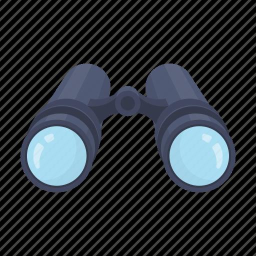 binoculars, instrument, lens, surveillance, zoom icon