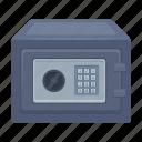 cupboard, lock, safe, key, security, electronic icon