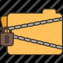confidential, secret, locked, document, encrypted