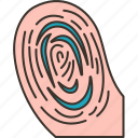 fingerprint, scanning, identify, forensic, evidence