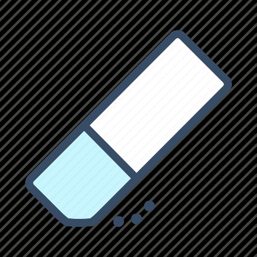 clear, developer, erase, eraser, eraser tool, remove, undo icon