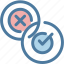 accept, checkmark, choice, management, task, tick, validation icon