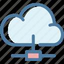 cloud, cloud computing, database, network, server, sharing, storage icon