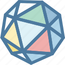 brillian, custom development, diamond, gemstone, jewellery, network, price creation icon