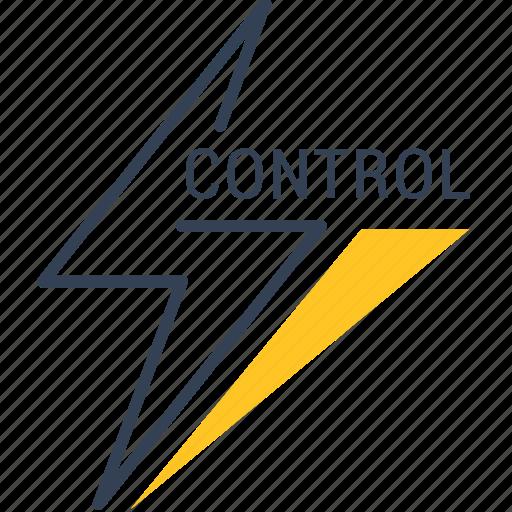 control, development, eco, energy icon