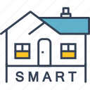 smart, house, development, internet