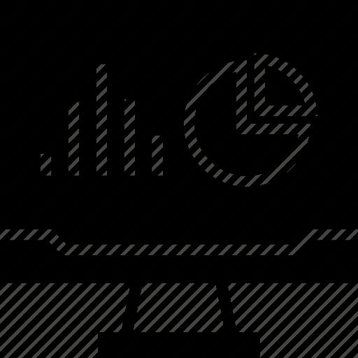bars, chart, graphic icon