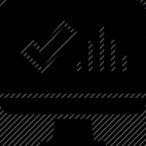 data, graph, mac, pc icon