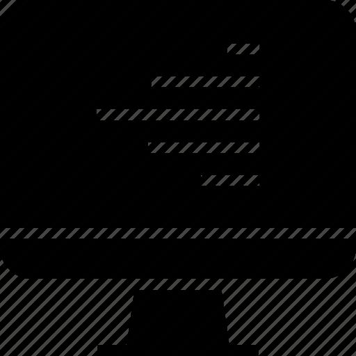 data, graph, lines, report icon