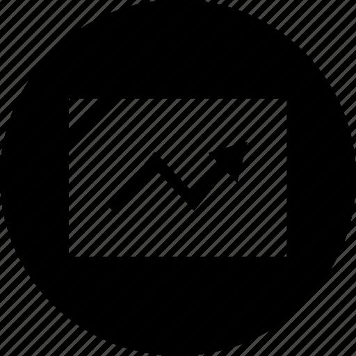 arrow, pointer, pointing icon
