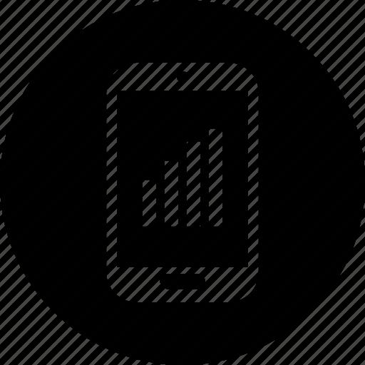 bars, high, signal icon
