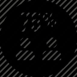 five, info, seventy icon