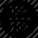 percent, seventyfive, twentyfive icon
