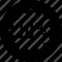 data, graphic, percent, ten icon