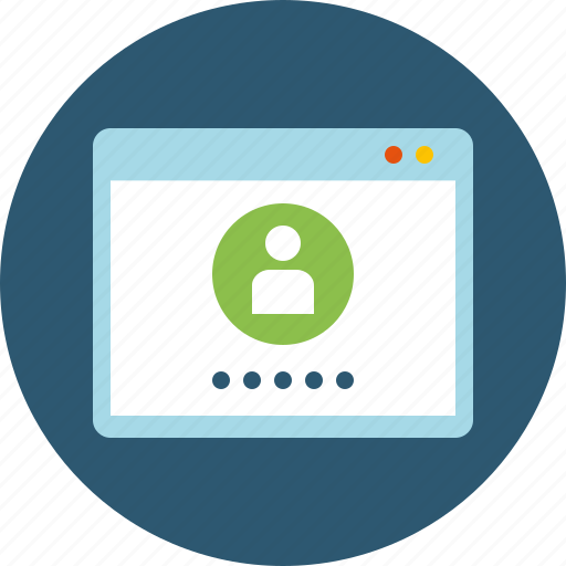 account, authentication, authorization, authorize, form, join, log in, login, password, protected, sign in icon