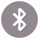 bluetooth, communication, technology, wireless icon