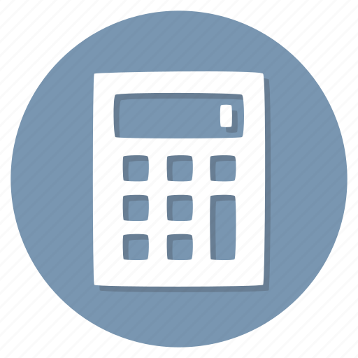 calc, calculating, calculator, math icon