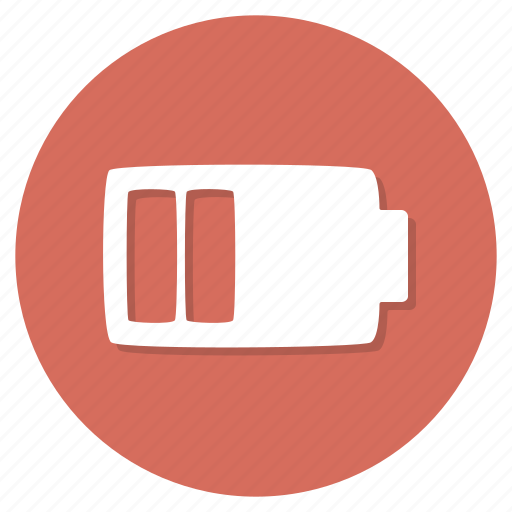 charging, empty, energy icon
