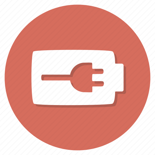 battery, electricity, plug icon