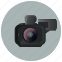 camera, movie, shoot, shooting, shooting camera, video, video camera icon