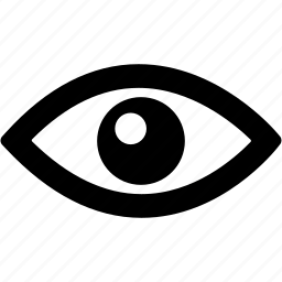 device, eye, eyeball, eyes, view icon