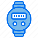 device, digital, screen, watch icon