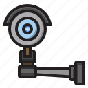 camera, device, hardware, security icon
